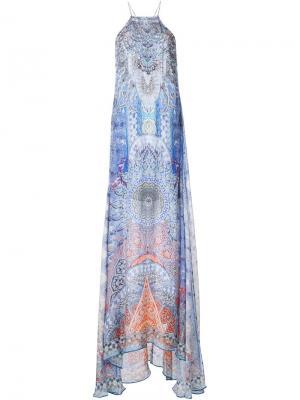 Платье Concubine realm Camilla. Цвет: синий