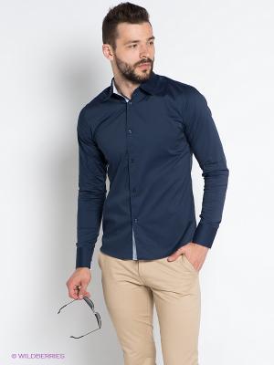 Рубашка OUTFITTERS NATION. Цвет: темно-синий