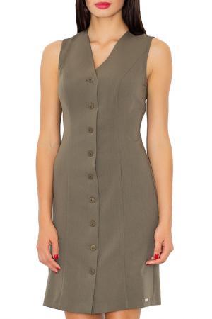 Dress Figl. Цвет: green