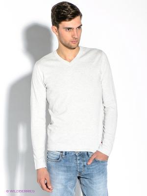 Пуловер Strellson. Цвет: светло-серый
