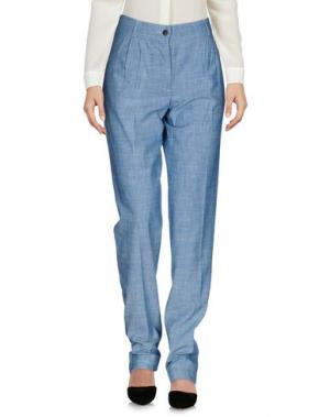 Повседневные брюки MASSCOB. Цвет: грифельно-синий