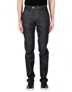 Джинсовые брюки D-21. Цвет: стальной серый