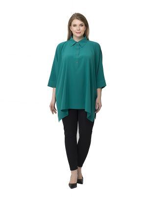 Блузка Pretty Woman. Цвет: зеленый