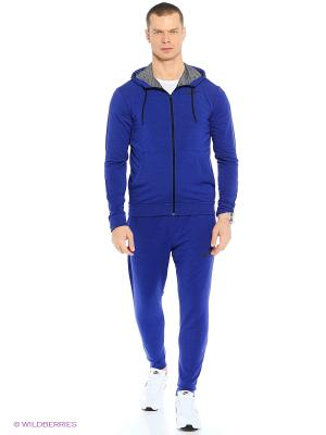 Толстовка DRI-FIT TRAINING FLEECE FZ HDY Nike. Цвет: синий
