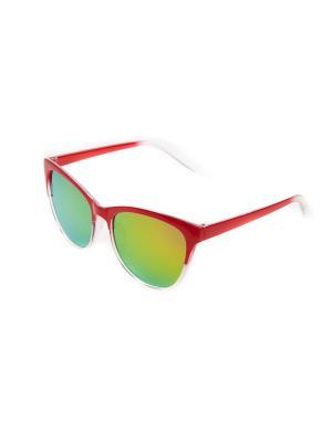 Очки солнцезащитные Pretty Mania. Цвет: красный,розовый,желтый