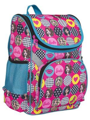 Рюкзак мягкий Barbie. Цвет: голубой, желтый, розовый