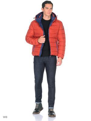 Куртка SNOWIMAGE. Цвет: терракотовый