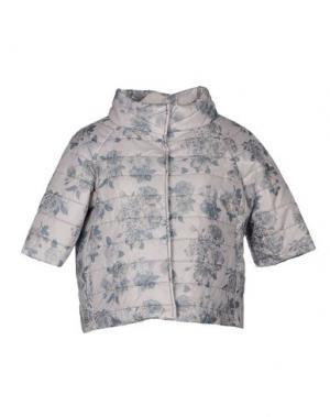Куртка TO-MAY. Цвет: серый