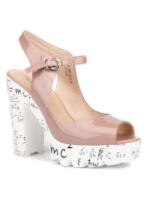 Босоножки EMILIA ESTRA. Цвет: розовый