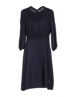 Короткое платье NOLITA. Цвет: ярко-синий