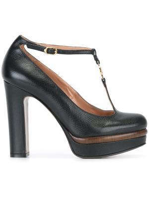 Туфли с Т-образным ремешком  LAutre Chose L'Autre. Цвет: чёрный