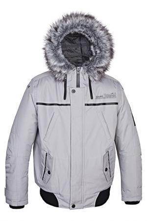 Куртка Point Zero. Цвет: серый