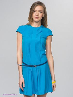 Платье Camelot. Цвет: голубой