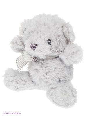 Игрушка мягкая (Grayson Bear Rattle, 15 см). Gund. Цвет: серый