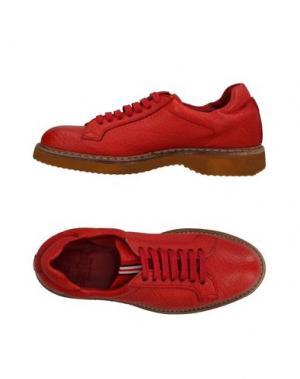 Обувь на шнурках GREEN GEORGE. Цвет: красный