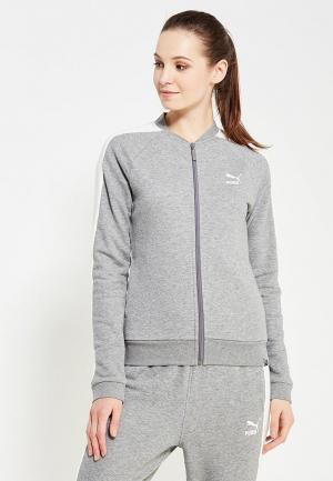 Олимпийка Puma. Цвет: серый