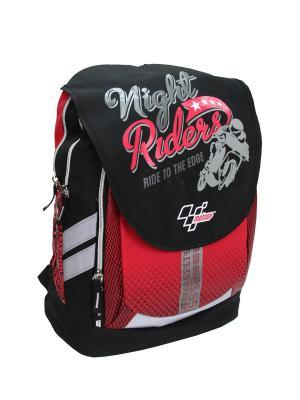 Рюкзак Motor GP Moto. Цвет: красный, серый, черный