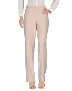 Повседневные брюки BIANCOGHIACCIO. Цвет: бежевый