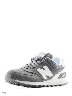 Кроссовки New Balance 574. Цвет: серый
