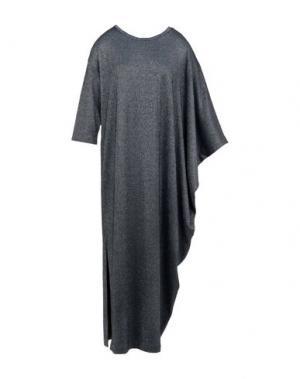 Длинное платье 5PREVIEW. Цвет: стальной серый