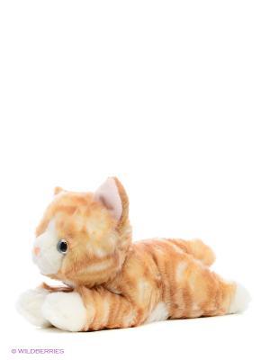 Игрушка мягкая Котенок рыжий 28 см AURORA. Цвет: оранжевый