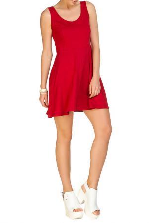 Платье Rocawear. Цвет: красный