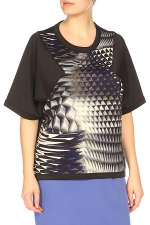 Блуза Compagnia Italiana. Цвет: черный