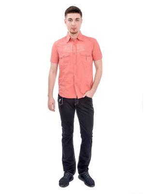 Рубашка мужская VON DUTCH. Цвет: красный