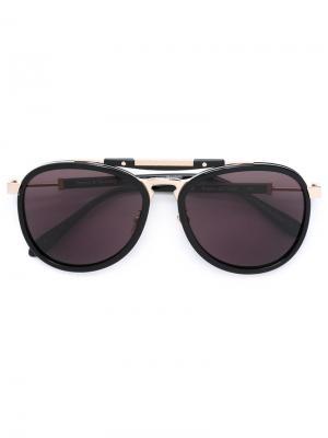 Солнцезащитные очки Rastro Del Viaje Frency & Mercury. Цвет: чёрный