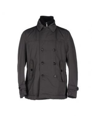 Куртка J.W. TABACCHI. Цвет: свинцово-серый