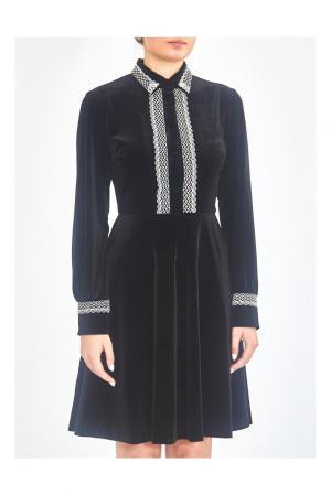 Платье FT-194122 Infinee. Цвет: черный