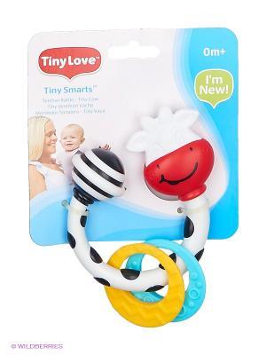 Погремушка-прорезыватель Коровка Марта Tiny Love. Цвет: белый, черный