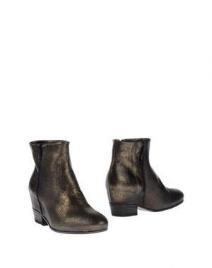 Полусапоги и высокие ботинки STRATEGIA. Цвет: бронзовый