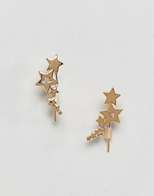 Orelia Кафф со звездами. Цвет: золотой