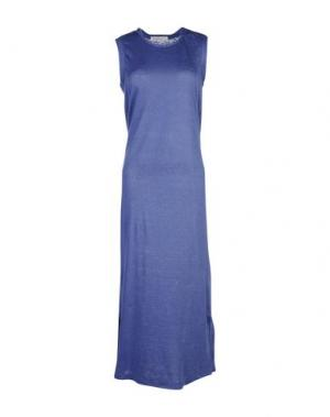 Длинное платье AMINA RUBINACCI. Цвет: синий