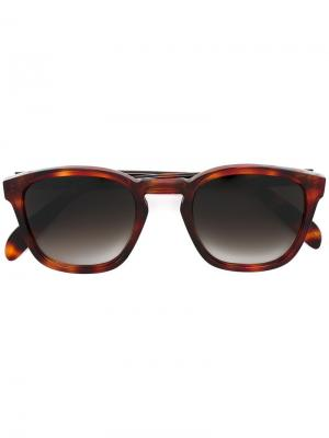 Солнцезащитные очки Genoa E. Tautz. Цвет: коричневый