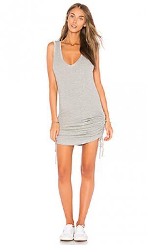 Платье-майка beverly Feel the Piece. Цвет: серый