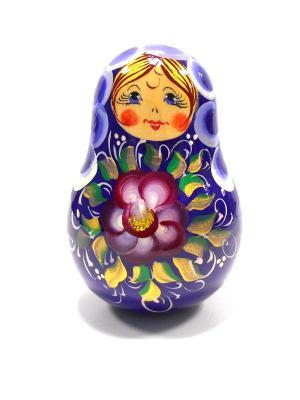 Неваляшка музыкальная -  Девочка в синем Taowa. Цвет: синий
