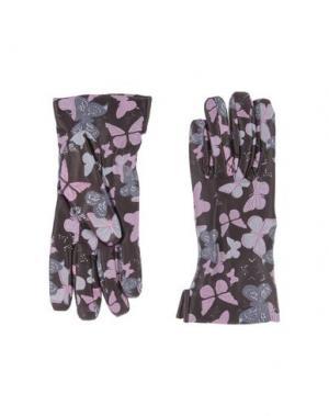 Перчатки 5FINGERS. Цвет: розовато-лиловый