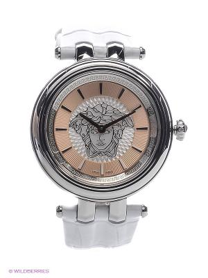 Часы Versace. Цвет: серебристый, белый, золотистый