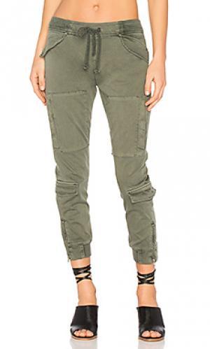 Дорожные брюки runaway Hudson Jeans. Цвет: военный стиль