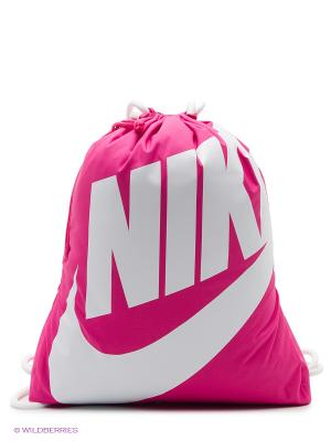 Рюкзак NIKE HERITAGE GYMSACK. Цвет: малиновый, розовый