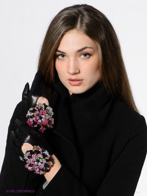 Перчатки Eleganse. Цвет: черный, зеленый, розовый