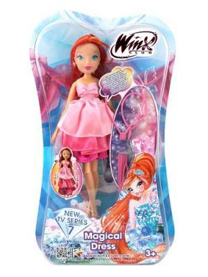 Кукла Winx Club Волшебное платье, Bloom. Цвет: лиловый