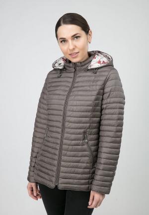 Куртка утепленная Ostrich. Цвет: коричневый