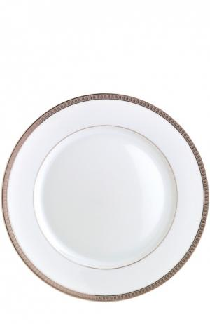 Тарелка обеденная Malmaison Christofle. Цвет: бесцветный