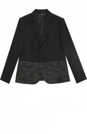 Жакет с карманами Jean Paul Gaultier. Цвет: черный