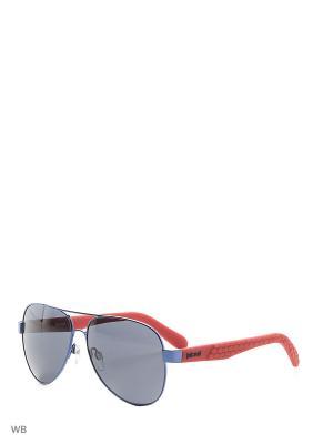 Солнцезащитные очки JC 650S 90A Just Cavalli. Цвет: синий, красный