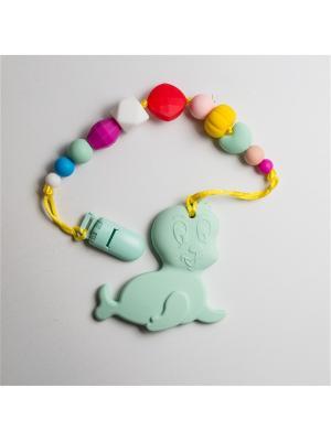 Игрушки-подвески Краски лета. Цвет: серо-зеленый