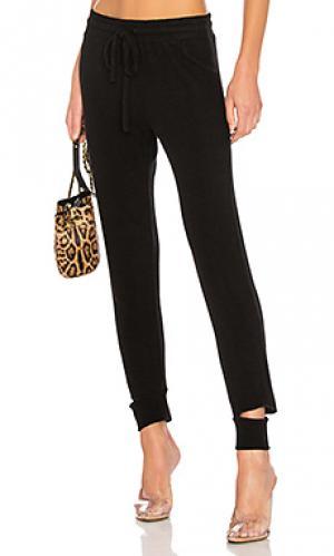 Свободные брюки LNA. Цвет: черный
